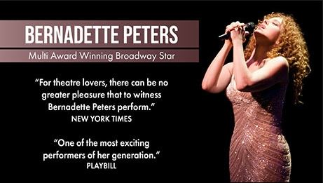 Bernadette Peters, who appears at the Lyceum this summer