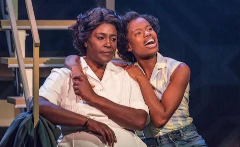 Sharon D Clarke and Abiona Omonua in Caroline or Change