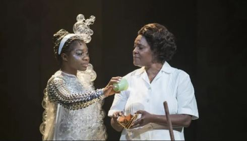 Me'sha Bryan and Sharon D Clarke