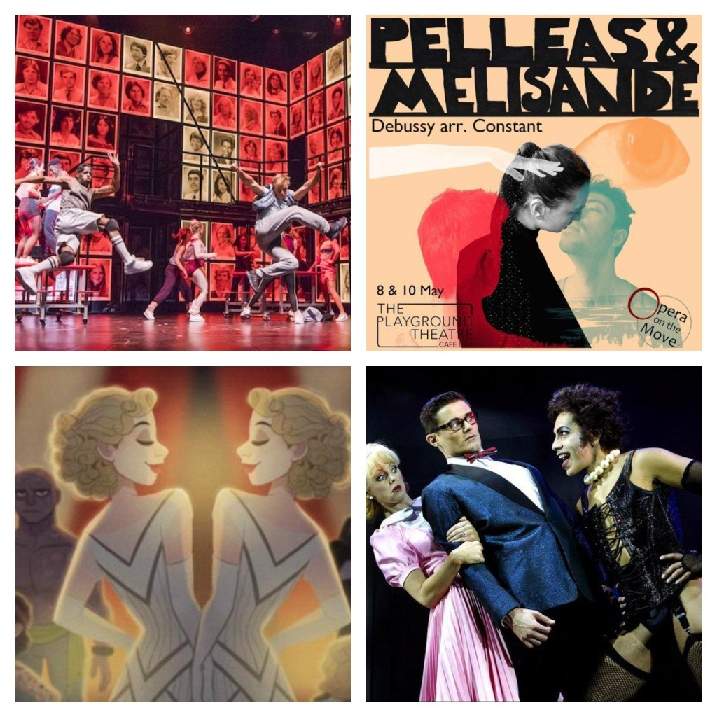 Fame, Pelleas and Melisande, Side Show, The Rocky Horror Show