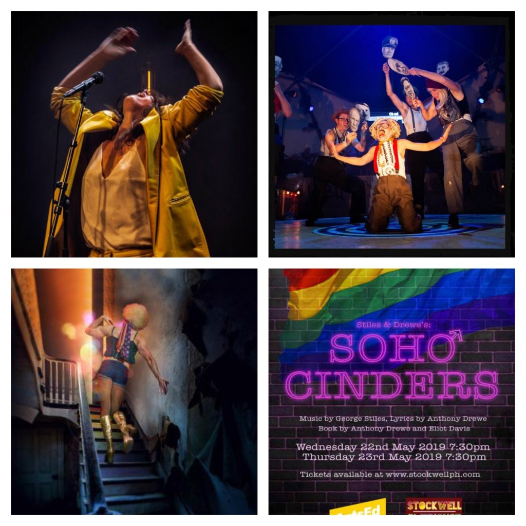 The Song Project, Ubu, The View UpStairs, Soho Cinders
