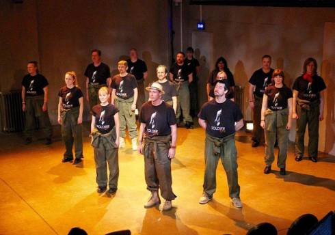 Soldier On at The Playground Theatre