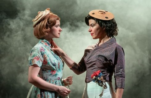Karen Fishwick as Daisy, Sirine Saba as Suzannah.