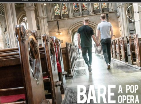 Poster for Bare: a Pop Opera