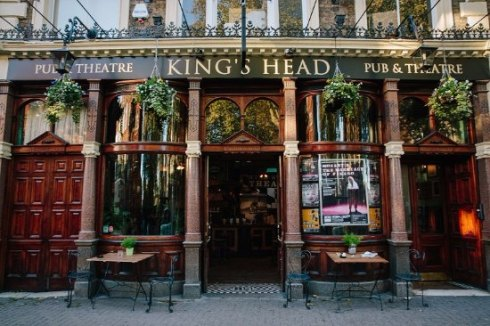 Exterior of the King's Head Pub and Theatre